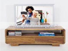Komoda pod TV 74502 Indický, koloniální nábytek z masívního dřeva palisandr.   AV interiéry