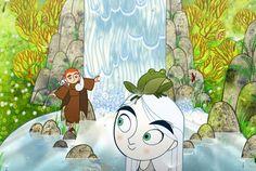 The Secret of Kells wonderful animated movie