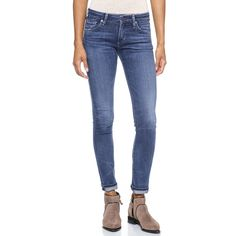 Citizens of Humanity Arielle Skinny Jeans ($188) ❤ liked on Polyvore featuring jeans, hewett, faded blue jeans, zipper jeans, faded skinny jeans, denim skinny jeans and skinny leg jeans