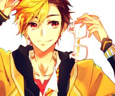 Kou age:17 height: 5'10 Birthday: February, 4 Kou is playful/active and really caring he always help his friends if they need
