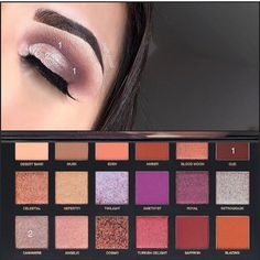 "332 mentions J'aime, 7 commentaires - Make-Up Artist (@jbagh_mua) sur Instagram : ""Pictorial using @hudabeauty desert dusk palette ! Also have you seen her new eyeshadow palettes!…"""