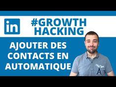 Ajouter des contacts en automatique sur Linkedin: GROWTH HACKING LINKEDIN Growth Hacking, Polo Shirt, T Shirt, Youtube, Mens Tops, Supreme T Shirt, Polos, Tee Shirt, Polo Shirts