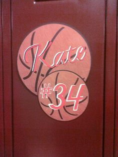 basketball decorations for locker   Basketball player locker decoration