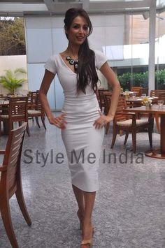 Malaika Arora Khan in Victoria Beckham at Taiwan Excellence event
