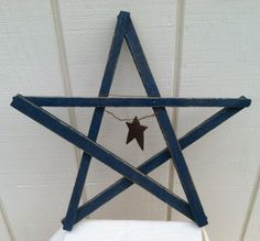 Primitive Tobacco Stick Star by inspirationsnature on Etsy, $15.00