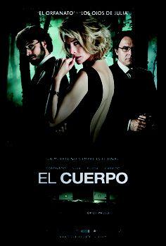 Cartel final de la película 'El cuerpo'. Estreno el 21 de diciembre de 2012