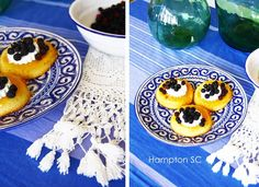 Cheese cake with blackberries