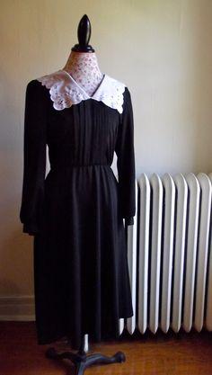 Wednesday Addams Dress. $35.00, via Etsy.