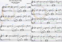 Download PDF Piano Sheet Music Sampha — (No One Knows Me) Like the Piano Sheets