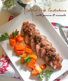 Chicken in Prune Sauce - Sweet, sour and full of flavour this sauce ...