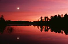 Pickerel Lake in Michigan... spent many many many moons camping there in my youth XOXOXO
