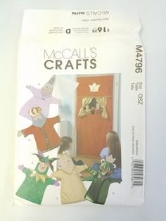 McCall's Crafts M4796 Doorway Theater and Puppets Frog
