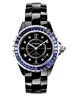 Chanel J12 Black n Blue