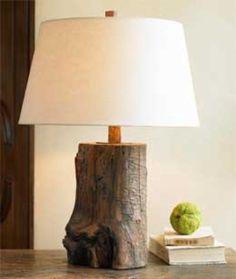 reclaimed wood lamp by whitney tesler, via Flickr