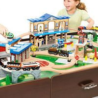 26 best Kid Things: Train Tables images on Pinterest | Train table ...