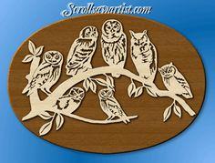 Scroll Saw Patterns :: Birds -                                                                                                                                                                                 Más