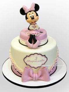 Torta de minnie mouse. Hermoso!   https://lomejordelaweb.es/