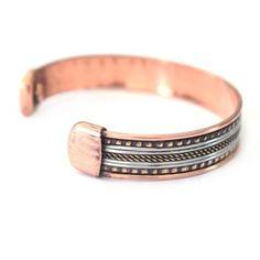 Bracelet Cuivre et Aimants (brincui012)