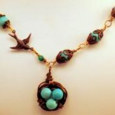 Robin's Way Necklace at the Shopping Mall is 49 from Anne Vaughan Designs.  Love it!