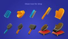 Interface development for AR games. The main screens were created, icons were drawn and a large number of products for the store. Ar Game, Game Design, Pets, Creative, Artwork, 3d, Illustration, Behance, Icons