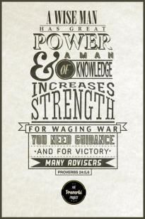 "typography + a proverb = whole new ""art"" of war"