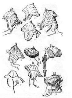 mongolian clothing drawing - Google Search