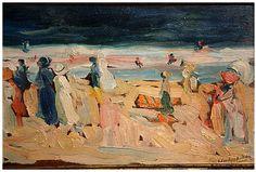 Playa de Biarritz. 1910