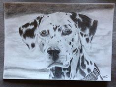 Dalmatiner Porträt Moose Art, Dogs, Animals, Dalmatian, Draw, Photo Illustration, Animales, Animaux, Animal Memes