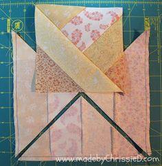 Jelly roll half square triangles