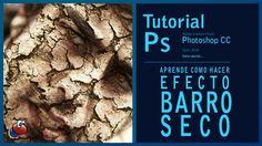 Tutorial Photoshop: efecto cara de barro seco (crack and peel) by @ildef...