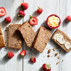 Strawberry-Nut Bread is the Summer Alternative to Banana-Nut Bread