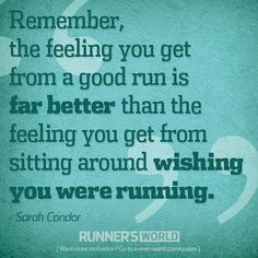 running motivation