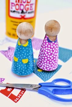 Printable Peg Doll Clothes.  FREE--FREE--FREE