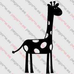 Pegame.es Online Decals Shop  #animal #giraffe #kids #vinyl #sticker #pegatina #vinilo #stencil #decal