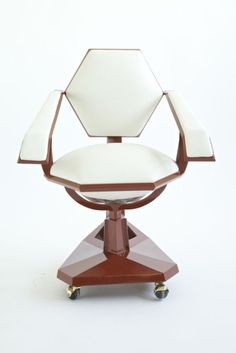 Price Tower Armchair by Frank Lloyd Wright