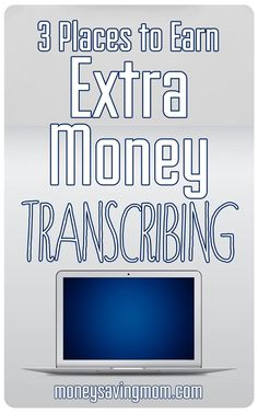 Did you know you can make side income transcribing? And you do not even need any special degrees or training to do it! Here are 3 places to earn extra money transcribing...