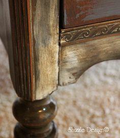 Vintage Dresser in Chesapeake Blue — Shizzle Design