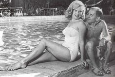 Johnny Hyde (artistic agent & VP of the William Morris, one of the biggest Hollywood agencies) was 53 when he met Marilyn late 1949. From dates to evenings spent together, he fell in love with Marilyn. He was the one who, with his brilliant conections, could give the necessary directions to Marilyn's fresh career.