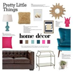 """""""And Just Keep Going"""" by fyenksfiona ❤ liked on Polyvore featuring interior, interiors, interior design, home, home decor, interior decorating, abcDNA, Worlds Away, Kim Salmela and Dot & Bo"""