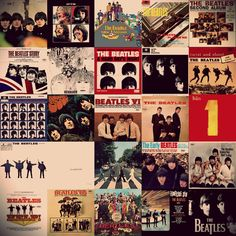 The Beatles Album covers [just 'cause I was thinking about this last night. jh]