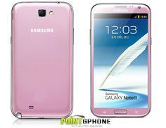 Une version rose du Galaxy note 2 est sortie en chine