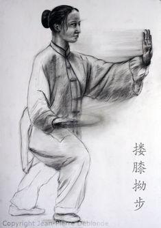 Spunto per il movimento Qi Gong, Buddhist Meditation Techniques, Karate Kata, Marshal Arts, Chinese Martial Arts, Kung Fu, Art World, Comic Art, Health