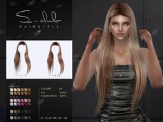 Club Hairstyles, Black Girls Hairstyles, Female Hairstyles, Sims 4 Tsr, Sims Cc, Sims 4 Black Hair, Pelo Sims, Hair In The Wind, Sims 4 Dresses