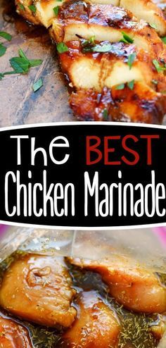 Look no further for the Best Chicken Marinade recipe ever! This easy recipe is sure to become your new favorite!