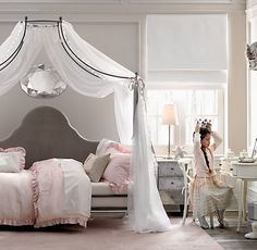 ove the canopy except for over a crib!| Restoration Hardware Baby & Child
