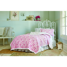 ditsy patchwork quilt simply shabby chic pink beautiful and shabby chic