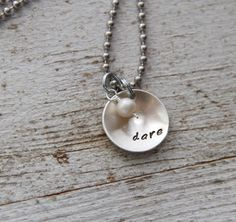 {jewelry I make - Word of The Year necklace}
