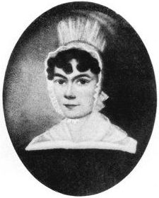 Candia at the time of her marriage to John Cadbury