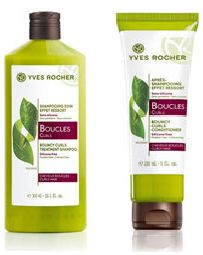 Yves Rocher Curl Shampoo and conditioner