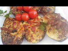 Punjeni plavi patlidzan Turkish Recipes, Ethnic Recipes, Beef Sliders, Baked Potato, Pork, Meat, Baking, Cookies, Nice